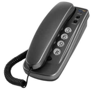 Телефон стационарный беспроводной LJ-260 Dartel SREBR доставка товаров из Польши и Allegro на русском