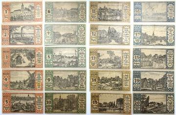 (Берлин - БАНКНОТЫ - 20 x 50 Pfennig 1921 - КОМПЛЕКТ) доставка товаров из Польши и Allegro на русском