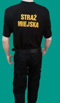 Футболка T-Shirt ГОРОДСКАЯ СТРАЖА роз.XXL черная доставка товаров из Польши и Allegro на русском
