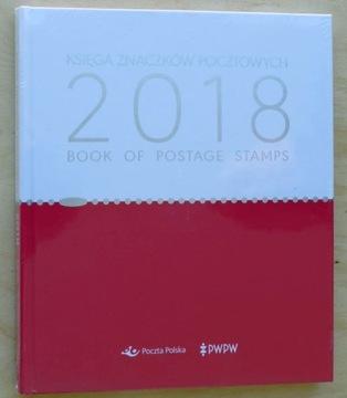 Книга почтовых марок - 2018 Год доставка товаров из Польши и Allegro на русском