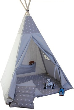 ТИПИ палатка для детей, вигвам, teepee + бесплатная ДОСТАВКА! доставка товаров из Польши и Allegro на русском