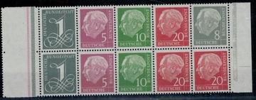 Германия 1958 г. Марки HB 8 ** Президент Хойс  доставка товаров из Польши и Allegro на русском