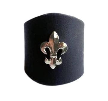слайдер,кольцо харцеров в шарфы-черный,lilijka доставка товаров из Польши и Allegro на русском
