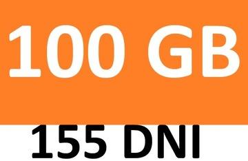 Internet orange free 100 GB LTE MOBILNY