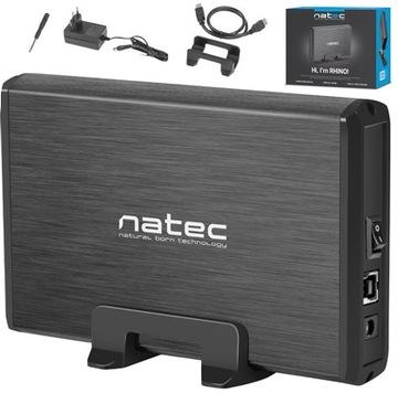 Корпус для жесткого диска 3,5 HDD SATA Natec Rhino USB 3.0 доставка товаров из Польши и Allegro на русском