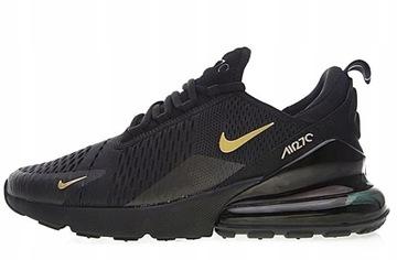 (Nike Air Max 270 Black/Gold (AH8050-007) р. 43) доставка товаров из Польши и Allegro на русском