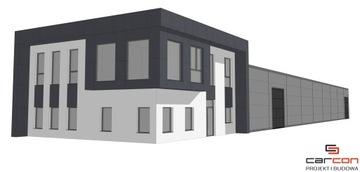 Проектирование и строительство Офис и Цех стальной +мезонин доставка товаров из Польши и Allegro на русском