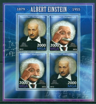 А Эйнштейн, лауреат Нобелевской премии физика атом ark. #MDG1365 доставка товаров из Польши и Allegro на русском