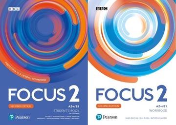 (Focus 2 КОМПЛЕКТ + CD + книга + eWorkbook 2020) доставка товаров из Польши и Allegro на русском