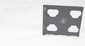 Коробки для 2 x CD - Box - Jewel Case Черный 1 шт доставка товаров из Польши и Allegro на русском
