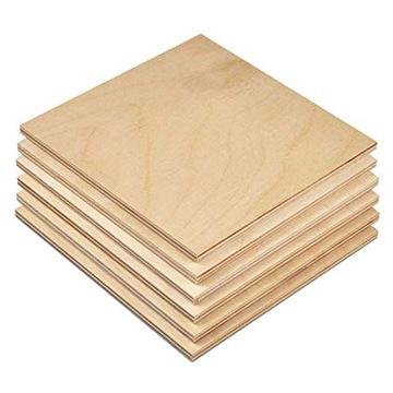 ФАНЕРА древесина Заготовка 8 мм 500 х 500 класс 2 ОБМЕН доставка товаров из Польши и Allegro на русском