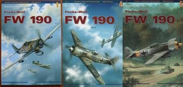 Zestaw Focke Wulf FW 190 cz.1, 2, 3 - Kagero доставка товаров из Польши и Allegro на русском