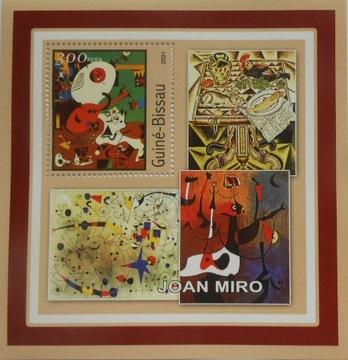 Живопись Жоана Миро Гвинея-Бисау #GB1170 доставка товаров из Польши и Allegro на русском