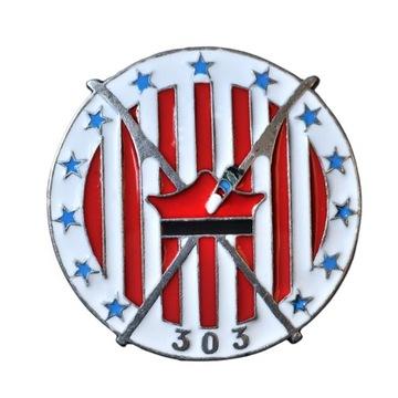 Знак 303-й истребительной эскадрильи Костюшко  доставка товаров из Польши и Allegro на русском