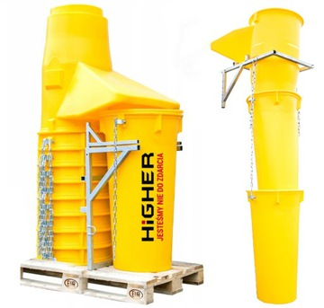 Люк для мусора строительный HIGHER желоб 6м МОЩНЫЙ доставка товаров из Польши и Allegro на русском