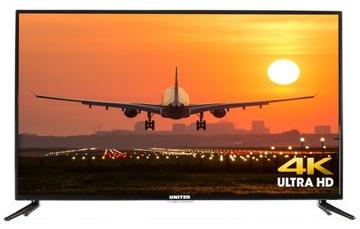 UNITED 4K LED43DU58 43 дюйма UHD TV-T2/C/S2 доставка товаров из Польши и Allegro на русском