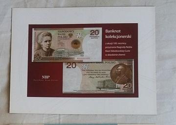 Папки для банкноты - МАРИЯ СКЛОДОВСКАЯ-КЮРИ доставка товаров из Польши и Allegro на русском