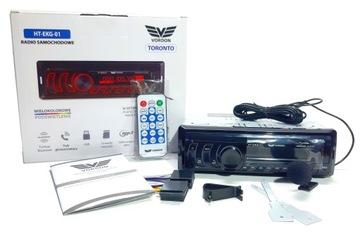АВТОМАГНИТОЛА VORDON, BT, MIC, MP3, FM, 4X45W USB доставка товаров из Польши и Allegro на русском