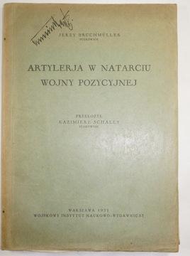 Артиллерия в атаке позиционной войны 1931r УНИКУМ доставка товаров из Польши и Allegro на русском
