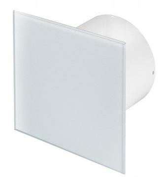 Wentylator łazienkowy 100 AWENTA szklany higrostat