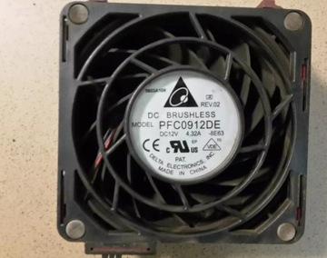 Вентилятор pfc 0912de 12В 4.32 A HP ProLiant ML370 доставка товаров из Польши и Allegro на русском