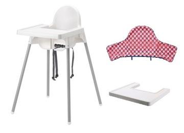 IKEA ANTILOP Стульчик для кормления +ПОДНОС+ВКЛАД #2 доставка товаров из Польши и Allegro на русском