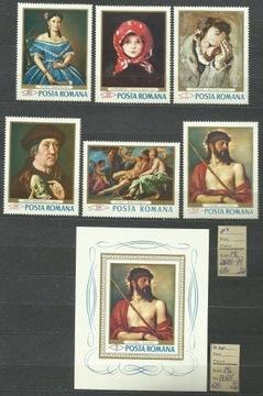 Румыния Мне 2666-71, bl 65 **Живопись Ricci Тициан доставка товаров из Польши и Allegro на русском