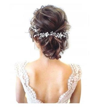 Украшение свадебное веточка тиара тиара свадьбы доставка товаров из Польши и Allegro на русском