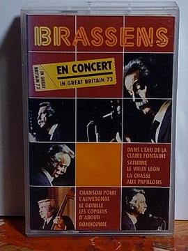 BRASSENS - EN CONCERT - MC доставка товаров из Польши и Allegro на русском