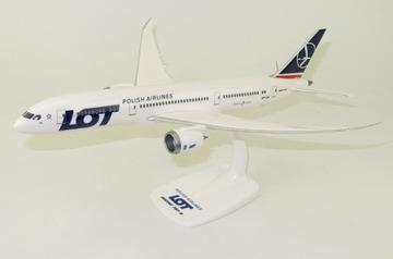 Модель Boeing 787-9 Dreamliner РЕЙС SP-LSA 1:200 доставка товаров из Польши и Allegro на русском