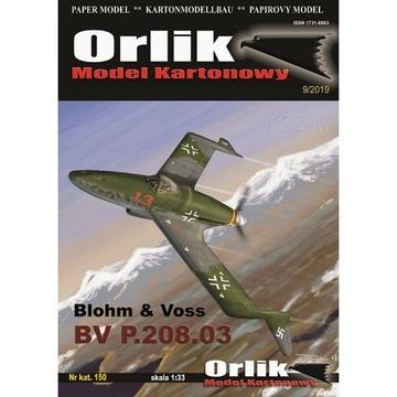 Орлик 150 - Blohm & Voss BV P. 205.03 1:33 доставка товаров из Польши и Allegro на русском