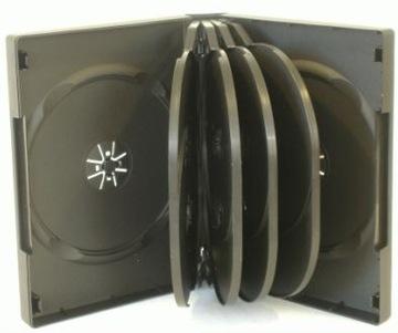 Коробки на 10-х DVD 33 Черные Твердые 1шт доставка товаров из Польши и Allegro на русском