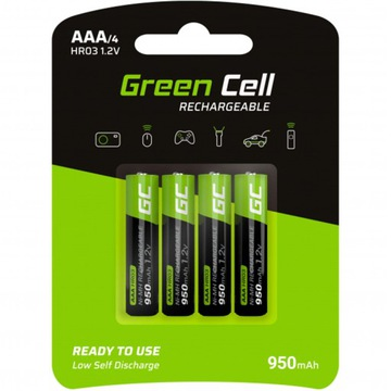 4x Батареи AAA R3 Green Cell 950mAh Батареи доставка товаров из Польши и Allegro на русском