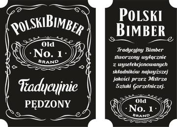 16x Наклейка наклейка Польский САМОГОН водка спирт доставка товаров из Польши и Allegro на русском