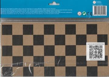 Бумажные шахматы и шашки ЭКО-ПОДАРОК доставка товаров из Польши и Allegro на русском