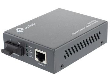 TP-LINK MC210CS Медиа конвертер волоконно-оптического кабеля 15 км доставка товаров из Польши и Allegro на русском
