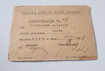 LEGITYMACJA POLSKA SEKCJA PIŁKI NOŻNEJ WICHNIAREK доставка товаров из Польши и Allegro на русском