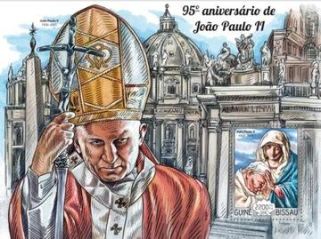 Папа римский Иоанн Павел II 95 roczn. день рождения #28GB15215b доставка товаров из Польши и Allegro на русском
