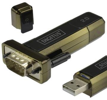 DIGITUS Конвертер USB 2.0 в RS232 FTDI / FT232RL доставка товаров из Польши и Allegro на русском