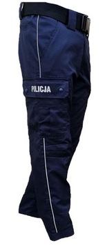 (НОВАЯ ТКАНЬ брюки переходные ПОЛИЦИЯ XL-182cm.) доставка товаров из Польши и Allegro на русском