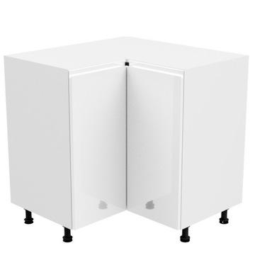 Угловой шкаф ASPEN D90N: белый глянец. GALA доставка товаров из Польши и Allegro на русском