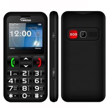 Телефон старшего YINGTAI T11 мобильный Телефон SOS доставка товаров из Польши и Allegro на русском