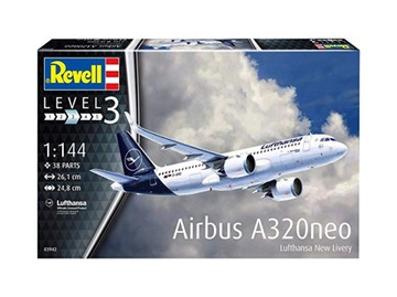 Airbus A320 neo Lufthansa New L Revell 03942 1:144 доставка товаров из Польши и Allegro на русском