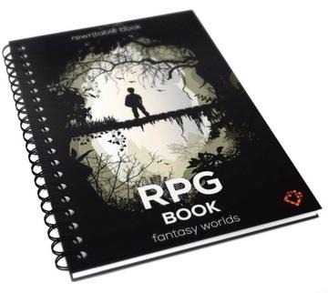 RPG Book Моющиеся тетрадь учителя игры A4 доставка товаров из Польши и Allegro на русском