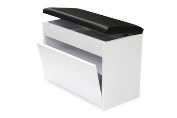 Тумба для обуви BEC50x30D сиденье, вещевой ящик 50см доставка товаров из Польши и Allegro на русском
