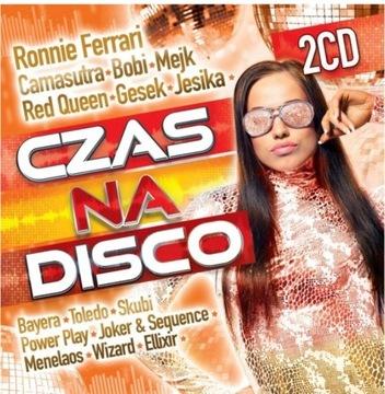 ВРЕМЯ НА ДИСКО ПОЛО 2019 Она бы так хотела 2 CD доставка товаров из Польши и Allegro на русском