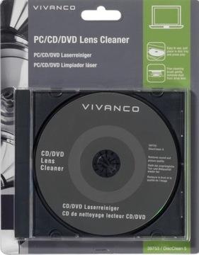 Маркова Чистящий Диск для CD / DVD МАГАЗИН VIVANCO доставка товаров из Польши и Allegro на русском