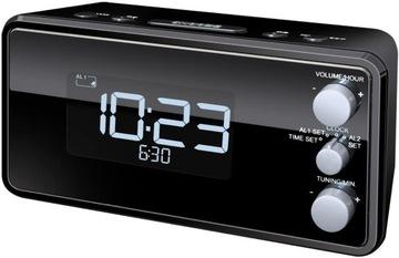 РАДИОЧАСЫ радио часы TERRIS RW584 USB зарядное устройство доставка товаров из Польши и Allegro на русском