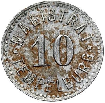 + Tempelburg - Чаплинек - 10 Pfennig BD - железо доставка товаров из Польши и Allegro на русском