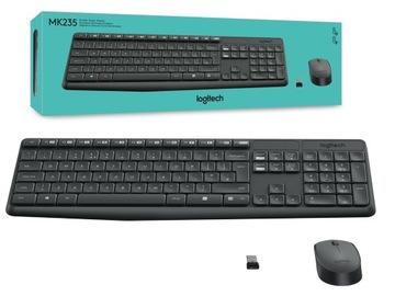 Logitech MK235 беспроводная клавиатура и мышь 920 доставка товаров из Польши и Allegro на русском